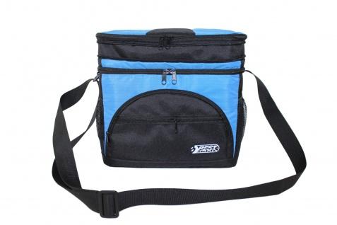 Best Sporting Kühltasche Isoliertasche 10 L - 30x17x20cm, blau-schwarz