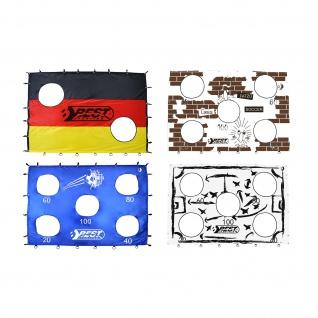Best Sporting Torwand mit Schusslöchern 193 x 150 cm, für Fußballtor 213 x 152 cm