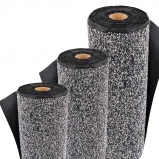 Steinfolie 8m x 0, 4m breit Für Teichrand Bachlauf Teichfolie Kiesfolie Grau