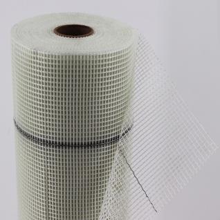 50m² Armierungsgewebe Gewebe Putzgewebe WDVS Glasfasergewebe 165g 4x4mm