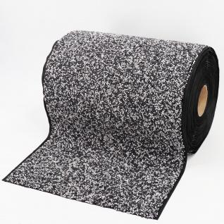 Steinfolie 1m x 0, 4m breit Für Teichrand Bachlauf Teichfolie Kiesfolie Grau - Vorschau 3