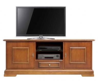 TV Schrank mit Sockelleiste 2 Türen