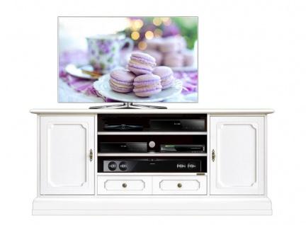 TV-Schrank Elfenbein 160 cm
