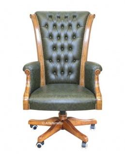 Sessel mit echtem Leder 'Top'