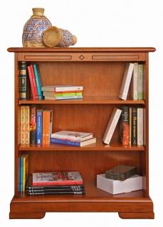 Kleines Bücherregal mit beweglichen Einlegeböden