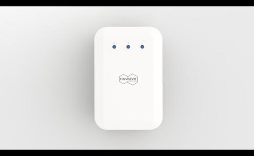 Nuwave WB55 professioneller Luftqualitätsmonitor - Feinstaub (PM1, 2, 5, 4, 10) VOC und CO2)