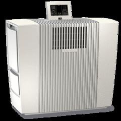 Venta LPH60 Smart Home WIFI Hybridbefeuchter 95m² und ultrafiner Stoffluftreiniger 45m² mit Nelior-Filter 0, 07 Mikron, mit Venta-App und Fernbedienung