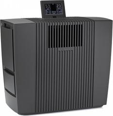 Venta LW62T Smart Home Wifi, Luftbefeuchter 250m² und Luftreiniger 150m² mit fester Wasseranschluss, Venta-App, Fernbedienung, Schwarz.