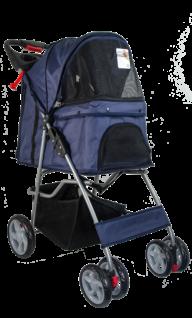 Pawise Pet Stroller Blue