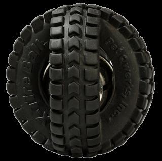 Haustier QWerks Jingle X-Tire Ball Medium Ø 12 cm