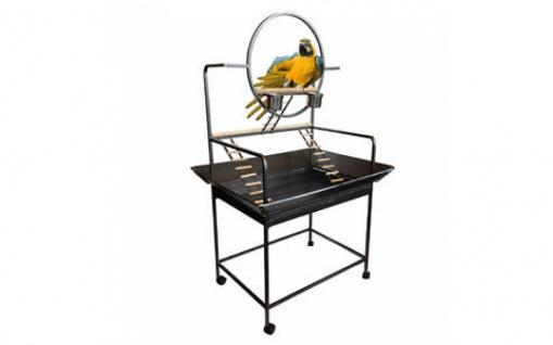Topmast Papageienständer Rio Schwarz 74 x 104 x 157 cm
