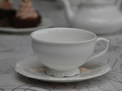 Chic Antique Provence Teetasse m. Untertasse