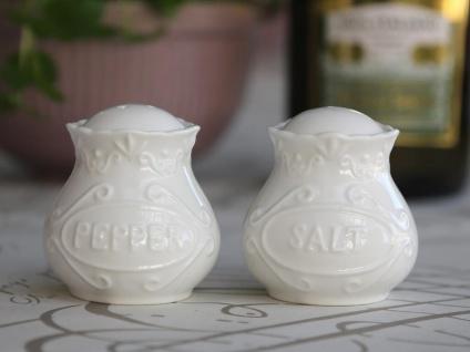 Chic Antique Provence Salz- und Pfefferstreuer