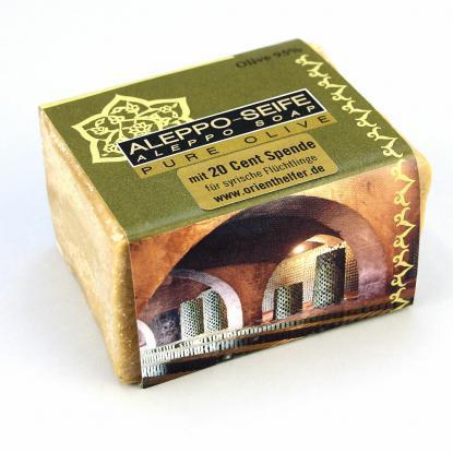 Seife aus Aleppo, Pure Olive, 200 g