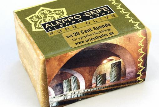 Seife aus Aleppo, Pure Olive, 200 g
