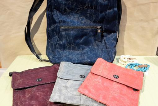 Taschen und Assecoires aus Nylon-Netzen