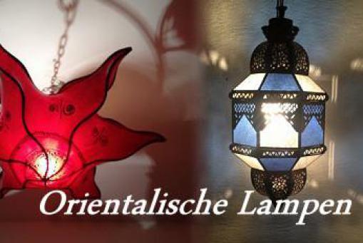 Orientalische Deckenlampen