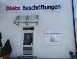 Dietz Beschriftungen in Landshut