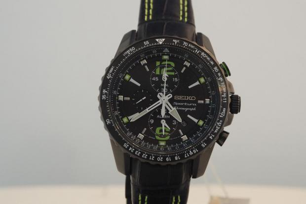 SEIKO Sportura Alarm-Chronograph