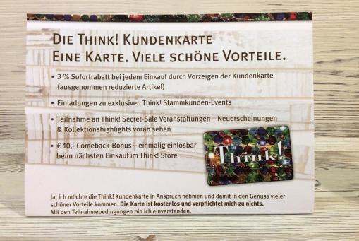 Think! Kundenkarte