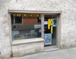 Record Store am Ostentor in Regensburg