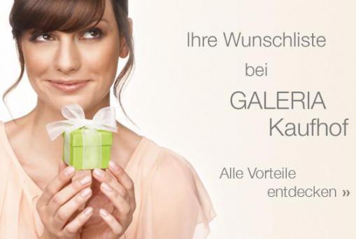 GALERIA Wunschliste
