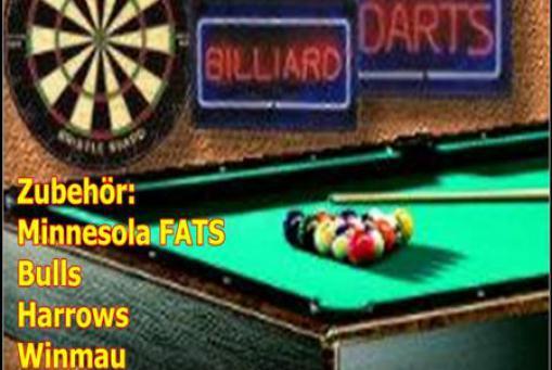 Alles für Dart & Billiard