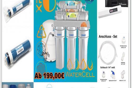 Osmose Trinkwasserfilter
