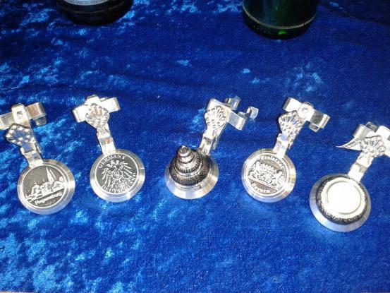 Bierflaschen Zinndeckel