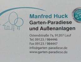 Manfred Huck Garten-Paradiese und Außenanlagen in Lauf an der Pegnitz