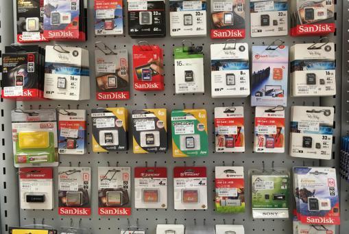 Speicherkarten und USB Sticks