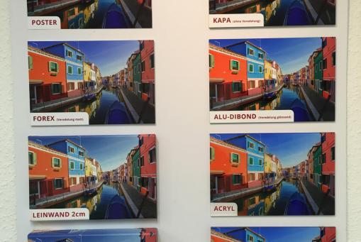 Wanddekoration vom Poster bis zum Acrylbild in allen Größen
