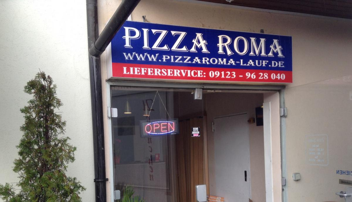 pizza roma in lauf an der pegnitz hermannstra e 29. Black Bedroom Furniture Sets. Home Design Ideas
