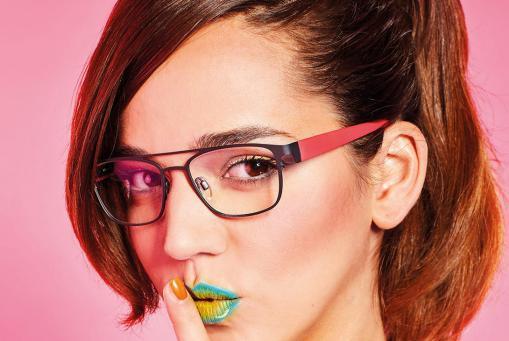 eye:max () Einstärkenbrille mit wechselbarem Bügel