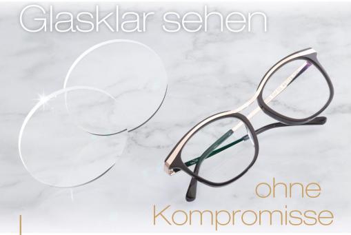 Gleitsichtbrille + Superentspiegelung + Hartschicht komplett