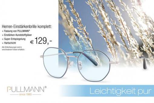 Einstärkenbrille + Superentspiegelung + Hartschicht komplett