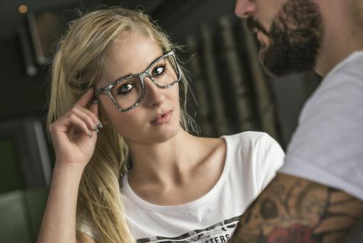 Paperstyle Brille komplett inklusive Einstärkengläsern