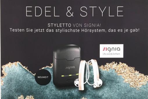 Styletto Hörsysteme jetzt kostenfrei testen!