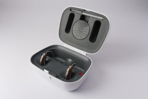 AQ sound SHD: vollautomatische wiederaufladbare Hörgeräte