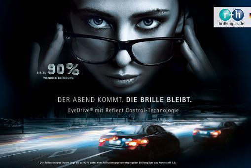 EyeDrive Brillengläser: ideal zum Autofahren! Paarpreis ab