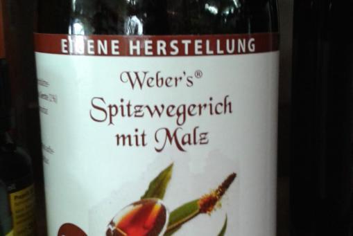Spitzwegerich Saft - ohne Alkohol auch für die Kleinen :-)