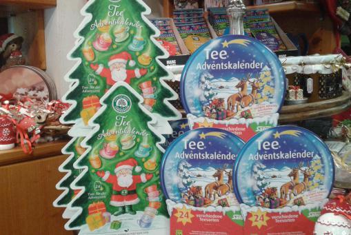 Tee - Adventskalender in verschiedenen Größen und Formen ;-)