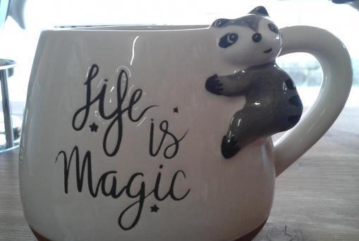 Supersüße Kinder Tasse - einfach magisch :-)