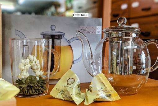 Handgemachte Tee - Blumen mit verschiedenen Blüten