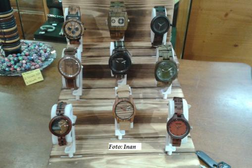 Uhren aus Holz - nachhaltig, superleicht und der Hingucker!