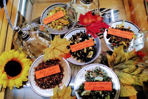 Unsere Herbst - Tees sind da - 5 verschiedene, neue Sorten :-)