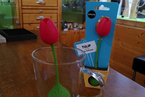 Unser Tulpen - Teefilter läutet den Frühling ein :-)