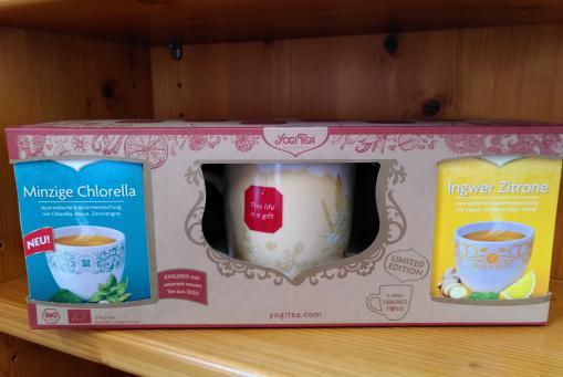 Yogi Geschenkset inklusive schöner Tasse :-)