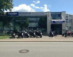 Triumph Regensburg Motorrad-Shop Kuhnert in Regensburg