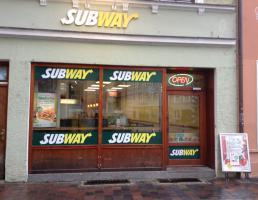 Subway in Landshut